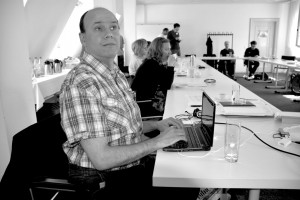 Hasan Karahasan im Workshop